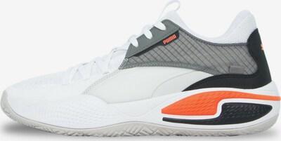 PUMA Chaussure de sport en gris / noir / blanc, Vue avec produit