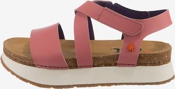 ART Sandals in Pink