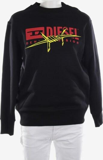 DIESEL Sweatshirt / Sweatjacke in S in schwarz, Produktansicht