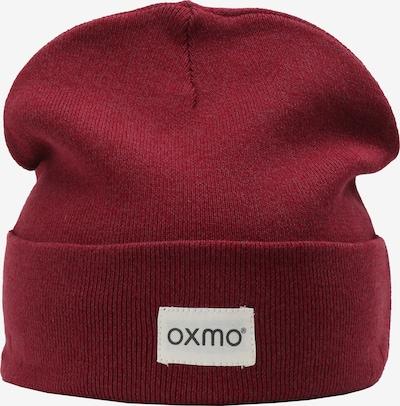 Oxmo Beanie 'Biene' in rot, Produktansicht