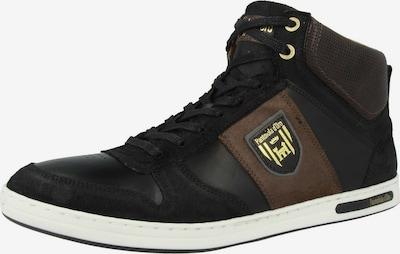 PANTOFOLA D'ORO Sneakers hoog in de kleur Bruin / Zwart, Productweergave