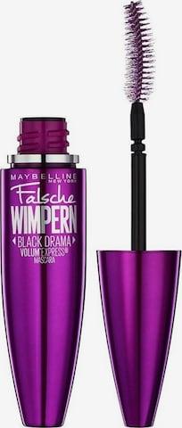 MAYBELLINE New York Mascara 'Volum Express Falsche Wimpern' in Black