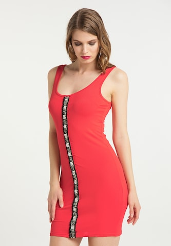 faina Summer Dress in Red