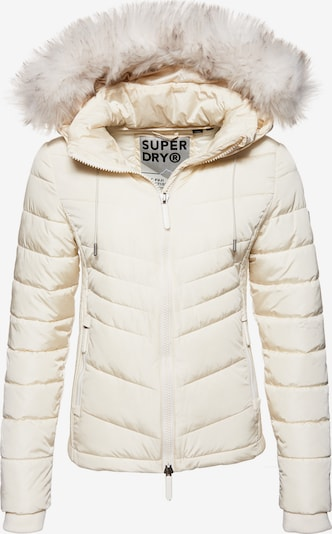 Superdry Jacke 'Luxe Fuji' in creme, Produktansicht