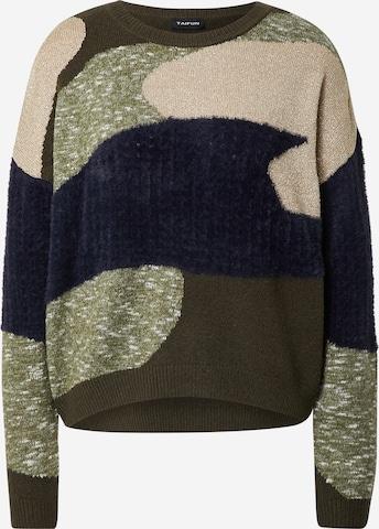 Pullover di TAIFUN in verde