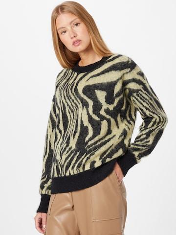 HUGO Pullover in Grün