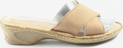 Giada Absatz Pantoletten in 37 in creme, Produktansicht
