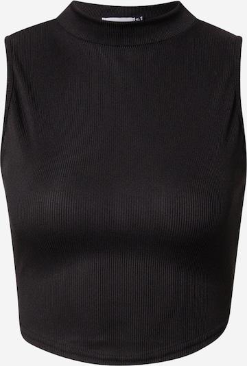Public Desire Top 'AMBER' in schwarz, Produktansicht