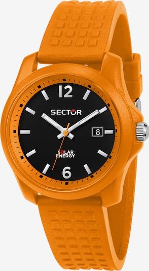 SECTOR Analoog horloge in de kleur Sinaasappel / Zwart, Productweergave