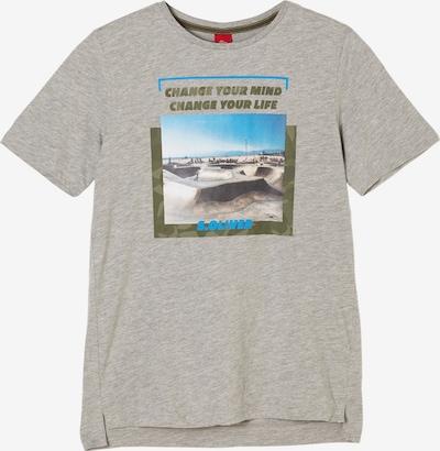s.Oliver T-Shirt in graumeliert, Produktansicht