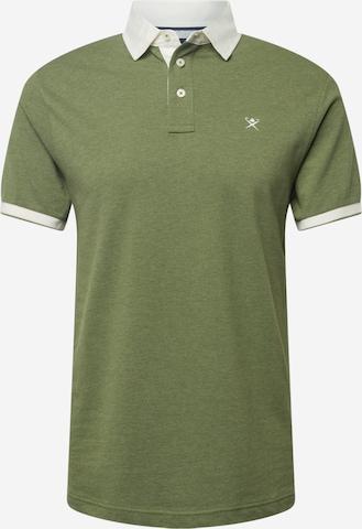 Hackett London Särk 'WOVEN', värv roheline