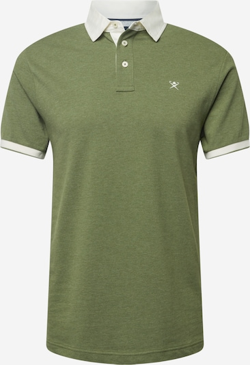 Hackett London Camiseta 'WOVEN' en oliva, Vista del producto