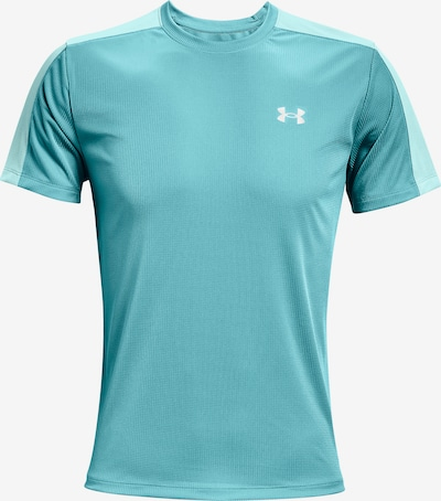 UNDER ARMOUR Functioneel shirt 'Speed Stride' in de kleur Turquoise / Aqua: Vooraanzicht