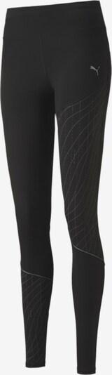 PUMA Laufhose in grau / schwarz, Produktansicht