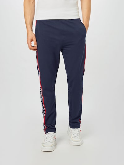 JOOP! Jeans Housut värissä tummansininen / punainen / valkoinen, Mallinäkymä