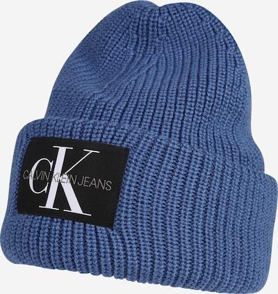 Căciulă Calvin Klein Jeans pe azuriu / gri / negru / alb, Vizualizare produs