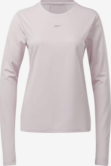 REEBOK Shirt 'Workout Ready' in grau / pastellpink, Produktansicht