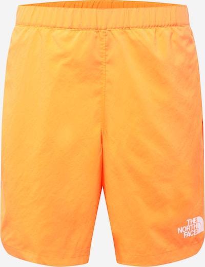 THE NORTH FACE Sportovní kalhoty - oranžová / bílá, Produkt