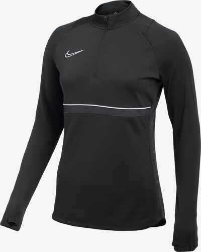NIKE Sweatshirt in grau / schwarz / weiß, Produktansicht