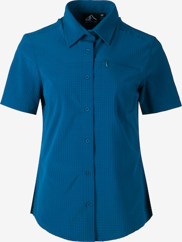 Whistler Athletic Button Up Shirt in Blue