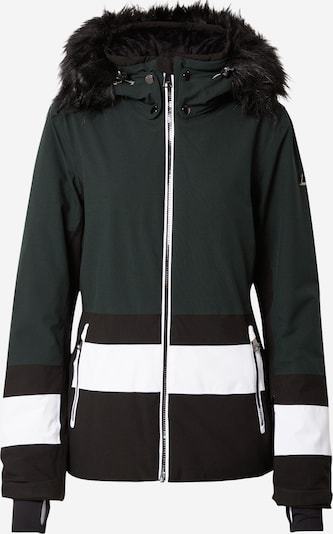 LUHTA Outdoor jacket 'LUHTA' in dark green / black / white, Item view