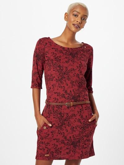 Ragwear Šaty 'TANYA' - vínově červená / černá, Model/ka