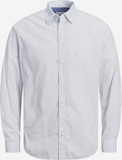 Jack & Jones Junior Overhemd in de kleur Grijs / Wit, Productweergave