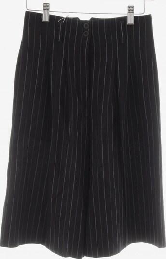 Crisca Shorts in S in creme / dunkelblau / weiß, Produktansicht