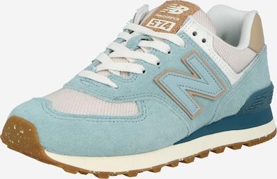 new balance Sneaker '574' in pastellblau / hellblau / braun / hellgrau / weiß, Produktansicht