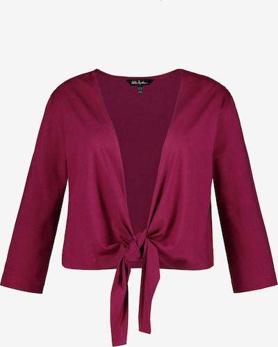 Ulla Popken Shirt in de kleur Wijnrood, Productweergave