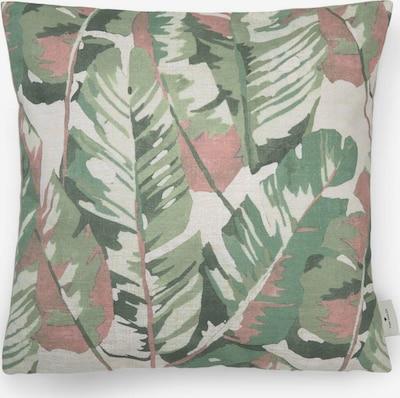 TOM TAILOR Kissenhülle in beige / grün / rot, Produktansicht