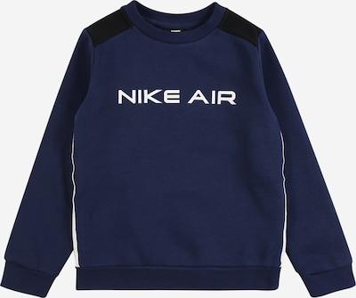 Nike Sportswear Sweat en bleu marine / bleu nuit / noir / blanc, Vue avec produit