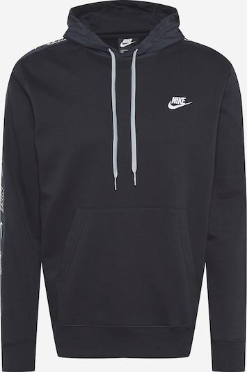 Nike Sportswear Sportisks džemperis melns / balts, Preces skats