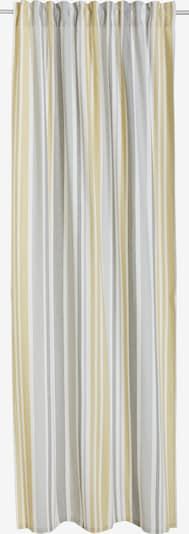 MY HOME Gardine in gelb / grau / weiß, Produktansicht