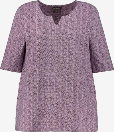 Ulla Popken Shirt in lila / schwarz, Produktansicht
