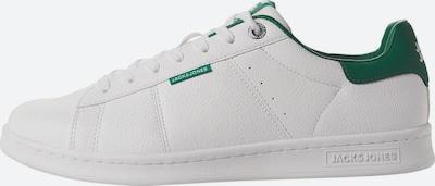 Sneaker low 'JFWBANNA PU' JACK & JONES pe verde închis / alb, Vizualizare produs