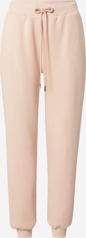 ABOUT YOU x Swalina&Linus Spodnie 'Luisa' w kolorze różowy