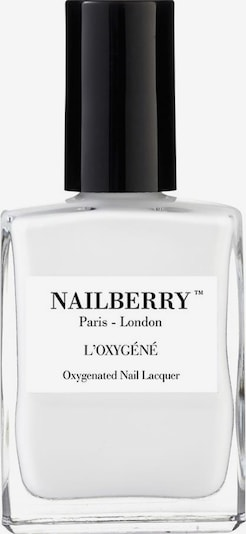 Nailberry Nail Polish 'L'Oxygéné Oxygenated' in White, Item view