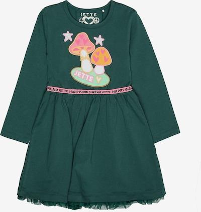 JETTE BY STACCATO Kleid in mint / dunkelgrün / orange / hellpink, Produktansicht