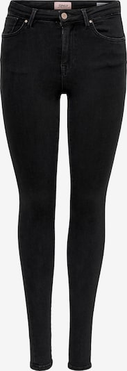 ONLY Jeans 'ONLPower Mid Push Up Skinny Fit' in de kleur Black denim, Productweergave
