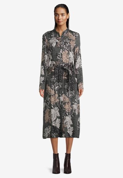 Betty Barclay Robe-chemise en beige / gris foncé / noir / blanc naturel, Vue avec produit