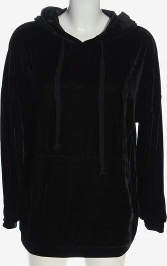 ZARA Kapuzensweatshirt in S in schwarz, Produktansicht