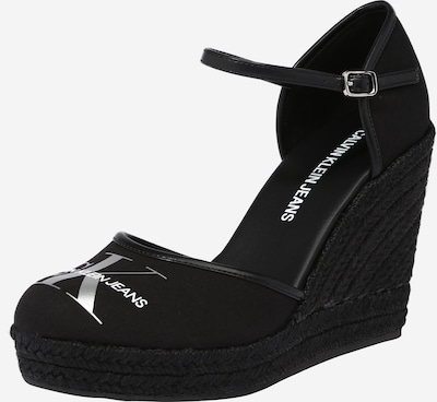 Calvin Klein Sandal in black / silver, Item view