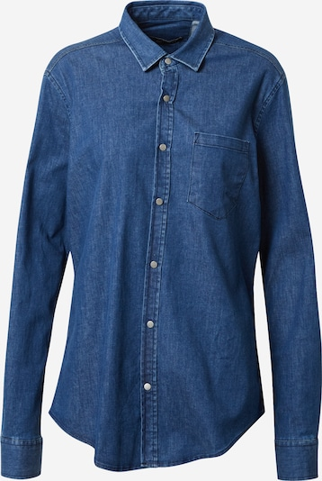 Trendyol Bluse in blue denim, Produktansicht