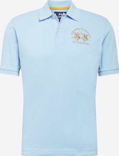 La Martina T-shirt i himmelsblå / guldgul, Produktvy