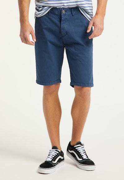 MO Pantalon chino en marine, Vue avec modèle
