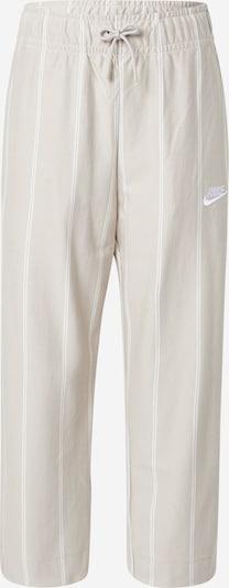 Nike Sportswear Hose in creme / hellgrau, Produktansicht