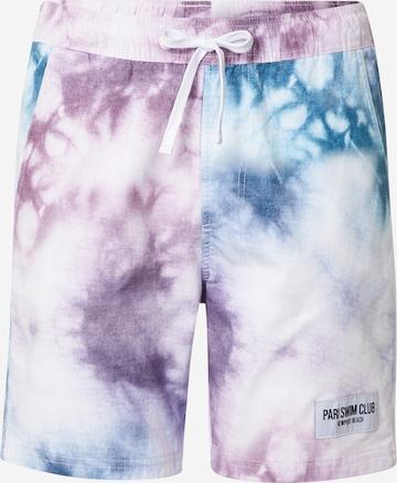 PARI Board Shorts 'SWIM CLUB' in Mixed colors