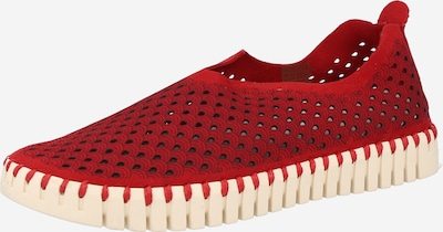 ILSE JACOBSEN Classic Flats in Red, Item view