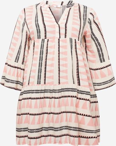 Z-One Kleid 'Lilian' in rosé / schwarz / weiß, Produktansicht